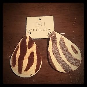 Cecelia designs earrings